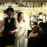 パーティーフォト《in Lover's Place》会場全体の電飾で入退場の演出もロマンチックに。