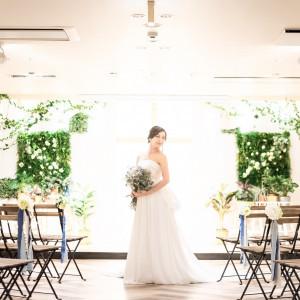 5名様からのご祝儀制〜60名様までの会費制まで幅広い形式でご利用いただけるチャペル人前式|Wedding Space Lover's Placeの写真(3891863)