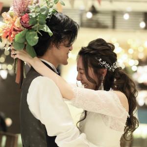 【会場】Lover's Placeこちらのお写真は実際にウェディングパーティーをされた後の、アフターショットです。フロアで改めて撮影することで前撮り風写真が残せます!|Wedding Space Lover's Placeの写真(4005362)