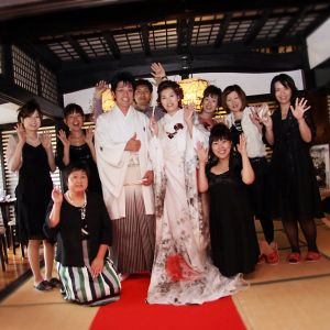 盛り上がったところでご友人たちと一緒に記念撮影!!|藤右ェ門の写真(624383)