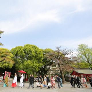 【和装も着たい方に!】提携神社&和婚人前式×豪華試食フェア!