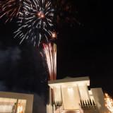 ナイトウェディングは大きな打ち上げ花火を挙げて、盛大な結婚式に!