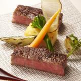 当館の料理は旬の高級食材を使用したフレンチジャポネ。ゲストの年齢を問わず喜ばれる逸品