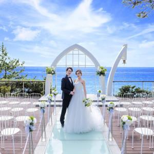 広大な海の目の前に開放感あふれる空間で誓いを 指帆亭 Shihantei Pine Tree Resortの写真(2631489)
