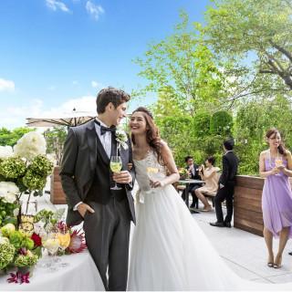 人気のドレス試着&豪華コース試食&緑溢れるガーデン体験フェア