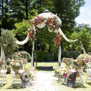 フラリエ ウエディング ガーデン