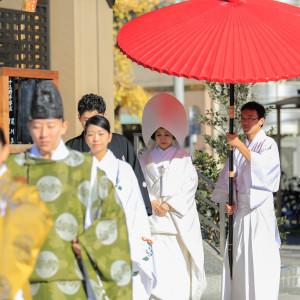 浅草神社で本格神前式!式のみもOK
