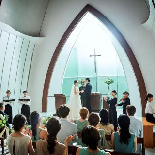 ≪憧れ花嫁体験♪≫ドレス試着&天井高14m本格派大聖堂を体験