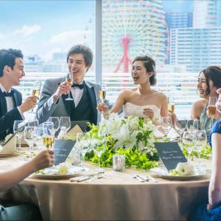 ≪日程・見積もり・演出のご提案≫コース試食付き家族婚フェア