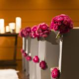 挙式会場のお花もフラワーアーティストがふたりらしさを引き出してくれる