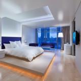 ふたりのお支度は客室を利用。そのまま宿泊できるのでゆったりと過ごせる。