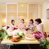 当日泊なら、スイートルームでの女子会もおススメ!!ガールズトークに花を咲かせよう♪