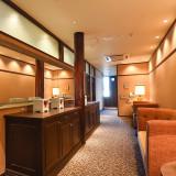 お支度部屋や待合室など、ゲストもゆったりとくつろいで頂けます。