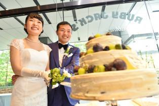 WEDDING CAKE入刀|RUBY JACK'S(ルビージャックス)の写真(4205935)