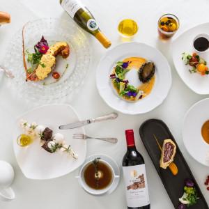 平日会員制レストランだからお料理が人気!フレンチ、和食からお選びいただけます。ぜひご試食してみて。|Casa Noble OSEIRYUの写真(2471782)