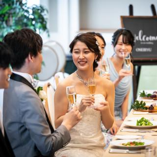 6名15万円【少人数婚】一軒貸し切りの安心!試食付スペシャルフェア