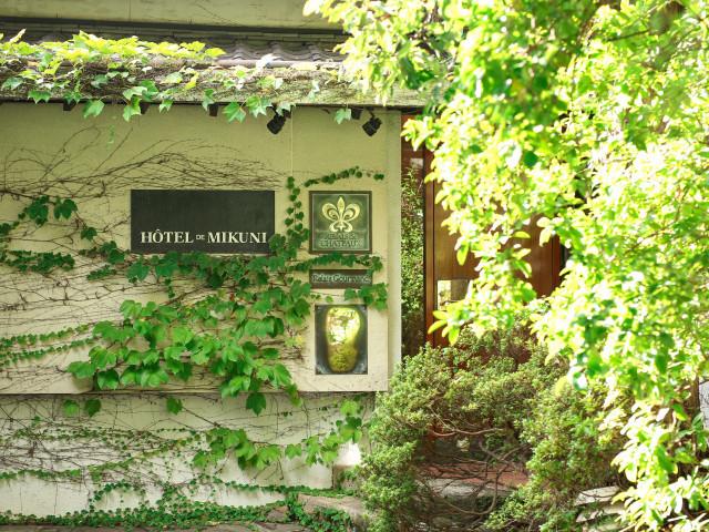 緑に包まれたナチュラルウエディング