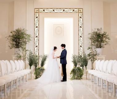挙式会場「オワゾブルー」シビルウエディングは欧米では古くから執り行われている市民に最も親しまれた伝統のある結婚式
