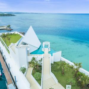 【沖縄の海に浮かぶチャペル】はじめての沖縄挙式相談フェア♪