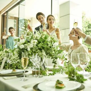 豪華試食付【少人数家族挙式フェア】表参道で叶う小さな披露宴!