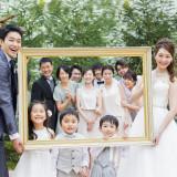 アットホームな緑溢れるガーデンは家族との集合写真にもピッタリです。