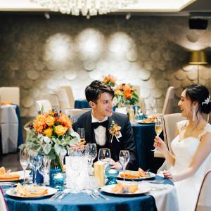 【THE GRAND 47】My Spontaneous Wedding ~私が、私らしく。~ 特別な1日だからこそ肩肘張らずにいつもの笑顔のままで、私らしい当日を|THE GRAND GINZA(ザ グラン銀座)の写真(3396185)