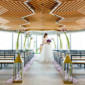 品格さと純真さを兼ね備えた、都市に生きる正統派花嫁のための空間。|THE GRAND GINZA(ザ グラン銀座)の写真(3456380)