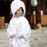 白無垢綿帽子