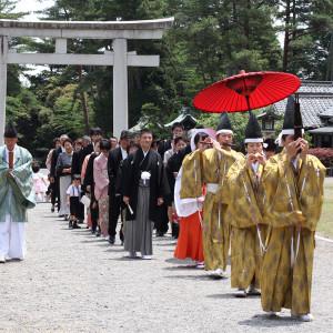 護国神社参進の儀 WABI やまどりの写真(1277403)