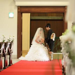 ベールダウンは感動のシーン。ゲストの涙を誘います。|聖ラファエル教会(岐阜)の写真(1314992)