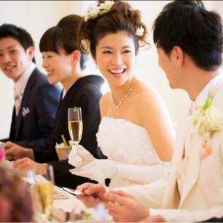 【10名23万~で叶う♪】ご試食付!お食事会結婚式フェア