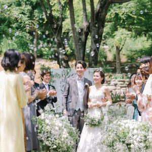 ★美しい自然に囲まれたロケーション★ナチュラルな結婚式が実現