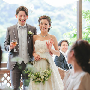 安心の担当専属プランナーと共に作る【オリジナル結婚式♪】
