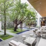 名古屋駅では初めての豊かな緑と水の貸切ガーデンが最大の魅力