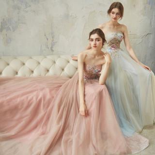 【衣裳48万円分】ウエディングドレス・カラードレス・タキシードの3着分レンタル料プレゼント