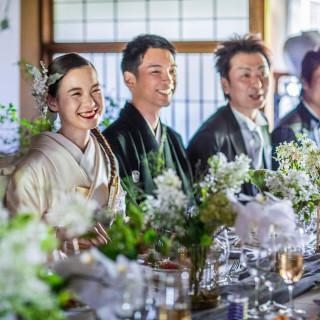 【組数限定】衣裳プレゼント■東山×古の邸宅で叶う会食フェア