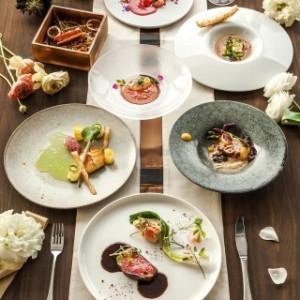 お料理はUNION HARBORのウェディングを最高に彩ります。