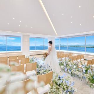 1組限定【最新ドレス×天空のチャペル体験】イメージ膨らむプレ花嫁フェア