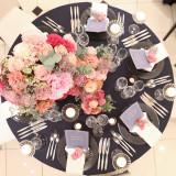 ドレスや装花に合わせたテーブルコーディネートをご提案!
