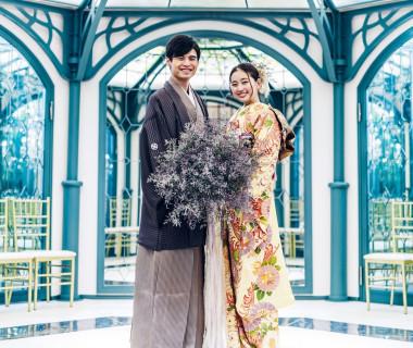 和婚人前式~結(ゆい)の儀~おふたりが編んだ組み紐を使うリングリレーなどでの演出