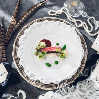 直前予約OK【料理評価1位の美食】フォアグラ&黒毛牛コース!邸宅×美食
