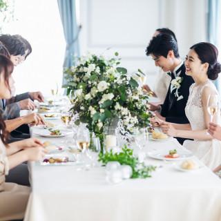 【貸切の少人数婚】贅沢コース試食♪平日は上質邸宅で美食のアットホームW