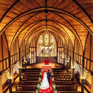 鹿児島県最大級!100年の歴史薫る大聖堂で永遠を誓う挙式は大感動のひととき|THE GRAND HOUSEの写真(2945501)
