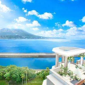 圧巻の桜島ビューと広がる海の絶景でゲストをおもてなし|THE GRAND HOUSEの写真(3341219)