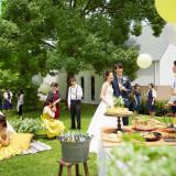 ガーデンウエルカムパーティやピクニックウエディングなどカジュアルスタイルがオススメ!