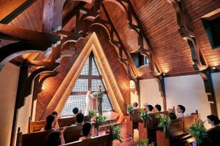 挙式(森音の教会)|ルグラン軽井沢ホテル&リゾートの写真(4382811)