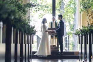 挙式(水音の教会)|ルグラン軽井沢ホテル&リゾートの写真(4382171)