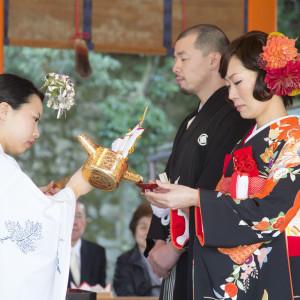 京都内の神社での挙式|レストランひらまつ 高台寺の写真(2484228)