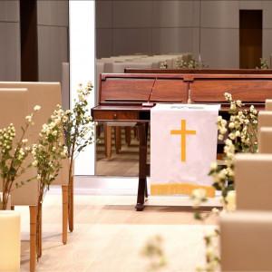 ひらまつ専任牧師がおりますので、厳かに挙式も可能です。|レストランひらまつ 高台寺の写真(2174633)
