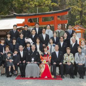 提携する京都の神社を舞台にした本格的な神前式も可能|レストランひらまつ 高台寺の写真(2484231)